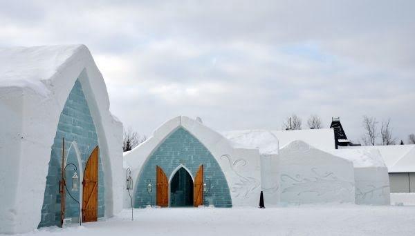 The Quebec Ice Hotel